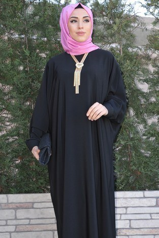 - Yarasa Kol Siyah Ferace 5676-1 siyah (1)
