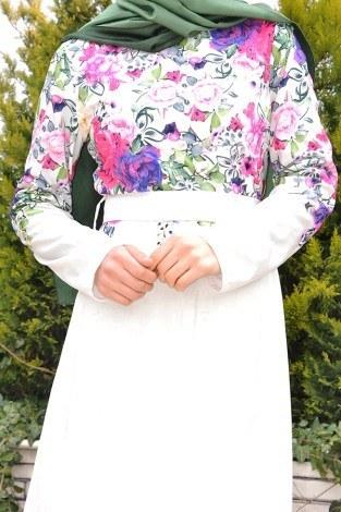 - Yeni Sezon Çiçekli Elbise 1881 (1)