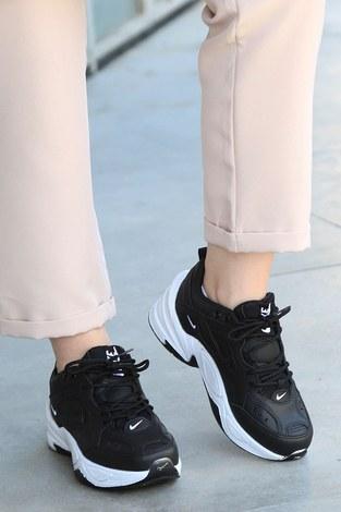 - Yüksek Taban Spor Ayakkabı 6137-1
