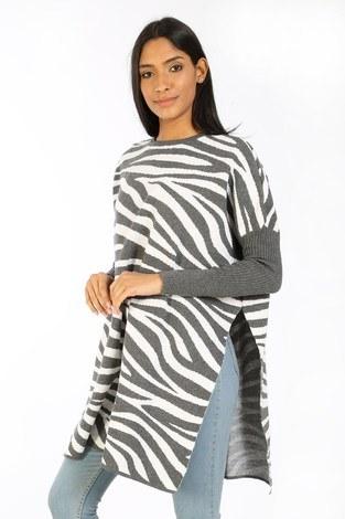 - Zebra Desen Panço Kazak 7709-12 gri (1)